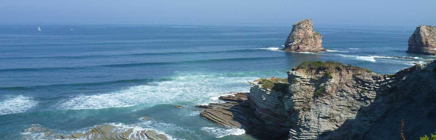 mobil home pays basque bord de mer